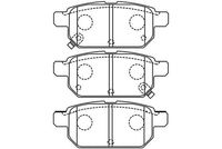 SET PLACUTE FRANA FRANA DISC KAVO PARTS BP-8532