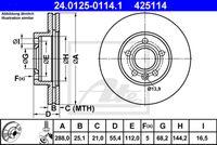 DISC FRANA ATE 24.0125-0114.1