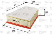 FILTRU AER VALEO 585060