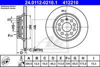 DISC FRANA ATE 24.0112-0210.1
