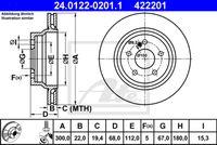 DISC FRANA ATE 24.0122-0201.1