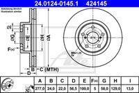 DISC FRANA ATE 24.0124-0145.1
