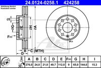 DISC FRANA ATE 24.0124-0258.1