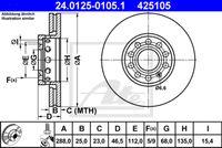 DISC FRANA ATE 24.0125-0105.1