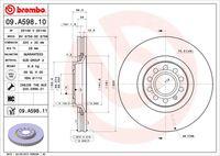 DISC FRANA BREMBO 09.A598.10