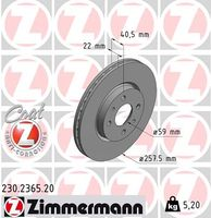 DISC FRANA ZIMMERMANN 230.2365.20