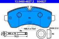 SET PLACUTE FRANA FRANA DISC ATE 13.0460-4827.2