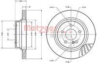 DISC FRANA METZGER 6110285