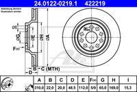 DISC FRANA ATE 24.0122-0219.1