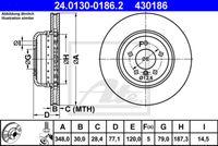 DISC FRANA ATE 24.0130-0186.2