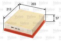 FILTRU AER VALEO 585101