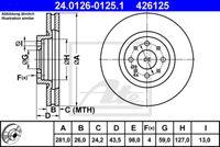 DISC FRANA ATE 24.0126-0125.1