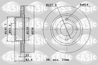 DISC FRANA SASIC 9004817J