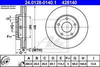 DISC FRANA ATE 24.0128-0140.1