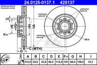 DISC FRANA ATE 24.0125-0137.1
