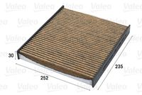 FILTRU AER HABITACLU VALEO 701020
