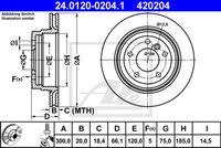 DISC FRANA ATE 24.0120-0204.1