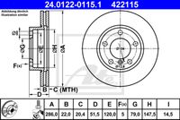 DISC FRANA ATE 24.0122-0115.1