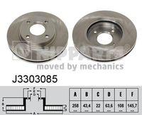 DISC FRANA NIPPARTS J3303085