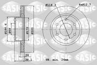 DISC FRANA SASIC 6106253