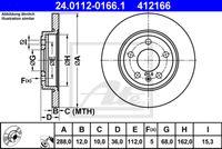 DISC FRANA ATE 24.0112-0166.1