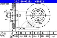 DISC FRANA ATE 24.0130-0222.1