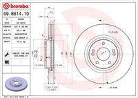 DISC FRANA BREMBO 09.B614.10