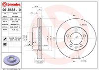DISC FRANA BREMBO 09.B633.10