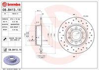 DISC FRANA BREMBO 08.B413.1X