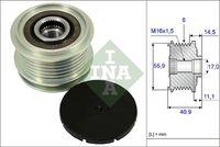 535 0012 10 / Generatortomgang / INA