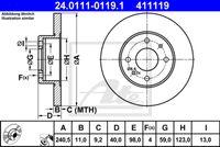 DISC FRANA ATE 24.0111-0119.1