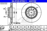 DISC FRANA ATE 24.0122-0152.1