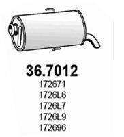 ASSO Einddemper (36.7012)