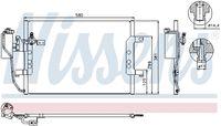 94588 / Kondensator, klimaanlegg / NISSENS