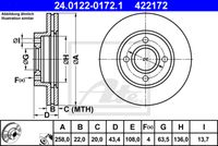 DISC FRANA ATE 24.0122-0172.1
