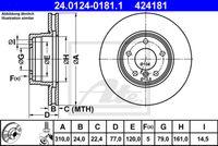 DISC FRANA ATE 24.0124-0181.1