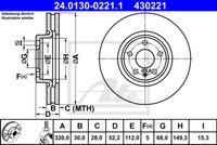 DISC FRANA ATE 24.0130-0221.1