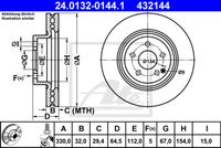 DISC FRANA ATE 24.0132-0144.1