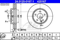 DISC FRANA ATE 24.0125-0167.1