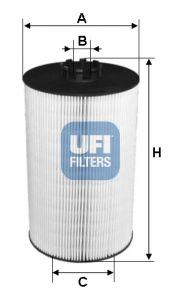 UFI Oliefilter (25.147.00)