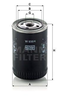 MANN-FILTER Hydraulische filter, automatische transmissie (W 936/4)
