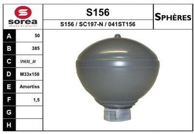 EAI Drukaccumulator, vering/demping (S156)