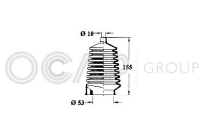 OCAP Stuurhoes, besturing (1211237)