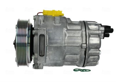 NISSENS Compressor, airconditioning ** FIRST FIT ** (89136)