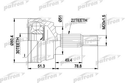 PATRON PCV1096