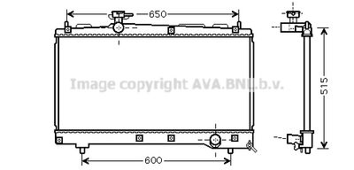 AVA QUALITY COOLING Radiateur (TO2331)