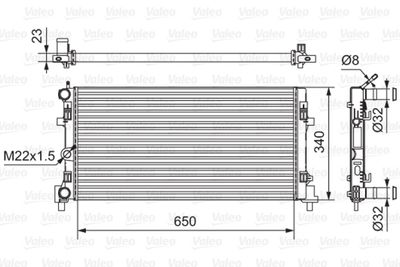 радиатор, охлаждане на двигателя