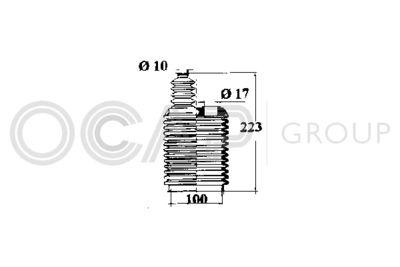 OCAP Stuurhoes, besturing (1211223)
