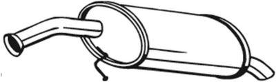 BOSAL Einddemper (169-217)