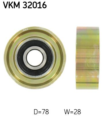 SKF VKM 32016